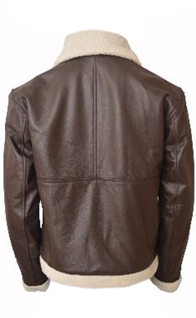 Sylvester Stallone (Balboa) Bomber brown Leather Jacket
