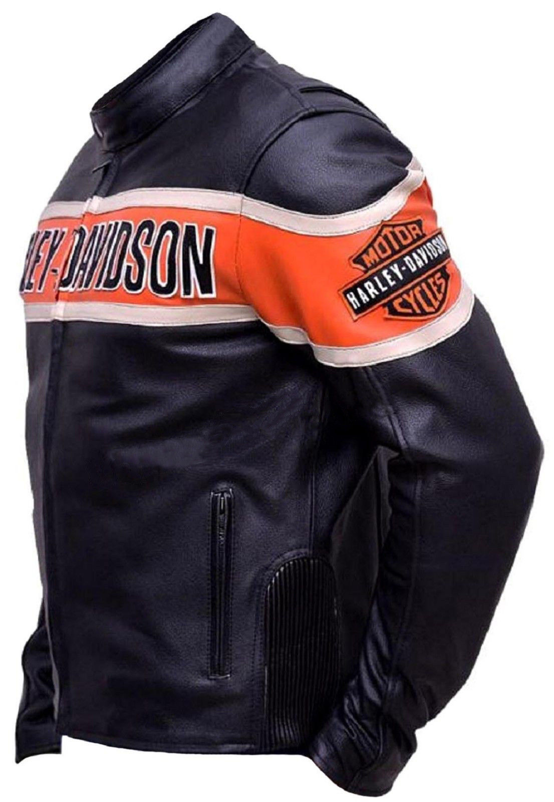 Harley Davidson Biker Genuine Leather Jacket1