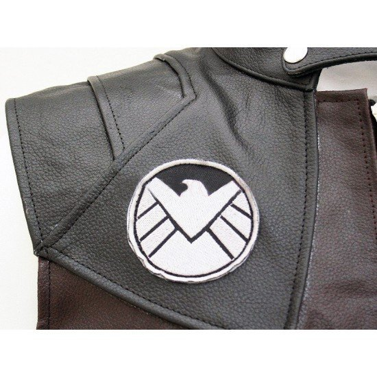 Hawkeye The Avengers Jeremy Renner Leather Vest1