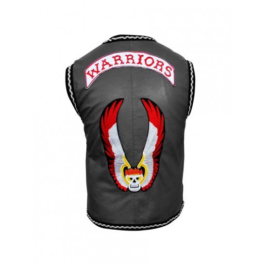 The Warriors Movie Leather Vest2