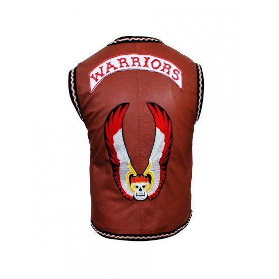 The Warriors Movie Leather Vest3