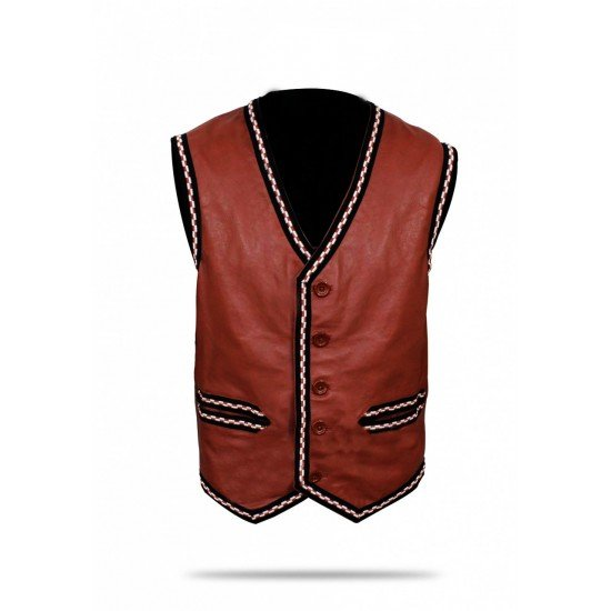 The Warriors Movie Leather Vest4