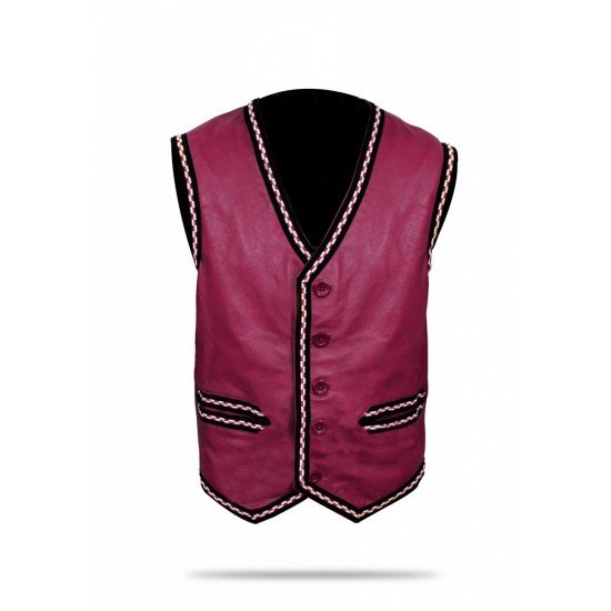 The Warriors Movie Leather Vest6