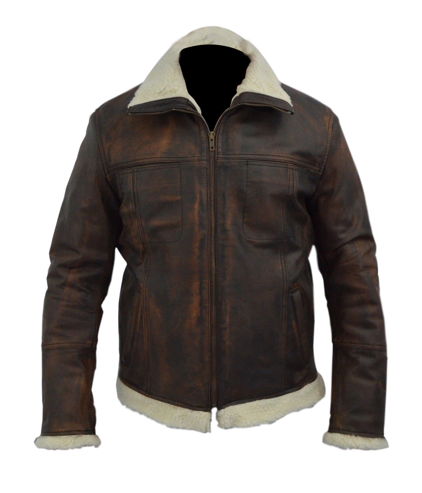 Xander Cage Vin Diesel Distressed Brown Leather Jacket