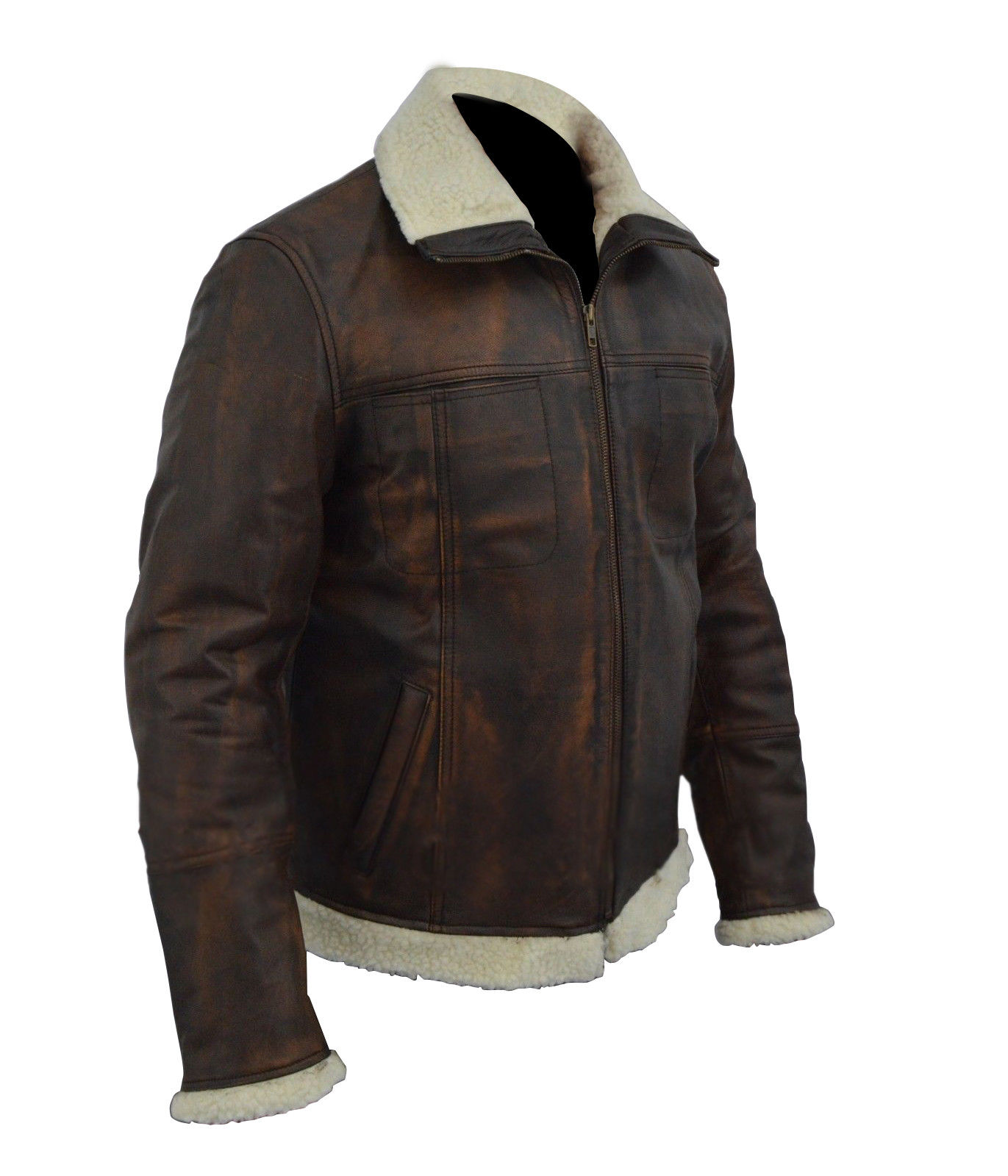 Xander Cage Vin Diesel Distressed Brown Leather Jacket1