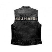 WWF Bill Goldberg Harley Davidson Men's Passing Link Leather Vest Vintage Jacket