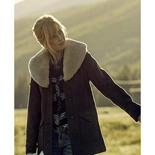 Yellowstone wool Coat Season 3,
