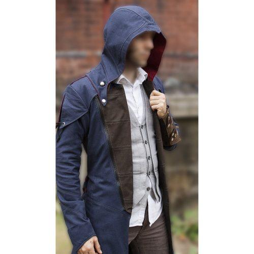 men's denim coat