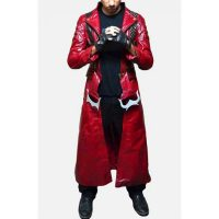 DEVIL MAY CRY 3 DANTE LEATHER TRENCH COAT