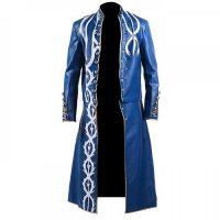 DEVIL MAY CRY 3 LONG BLUE FANCY VERGIL COAT COSTUME