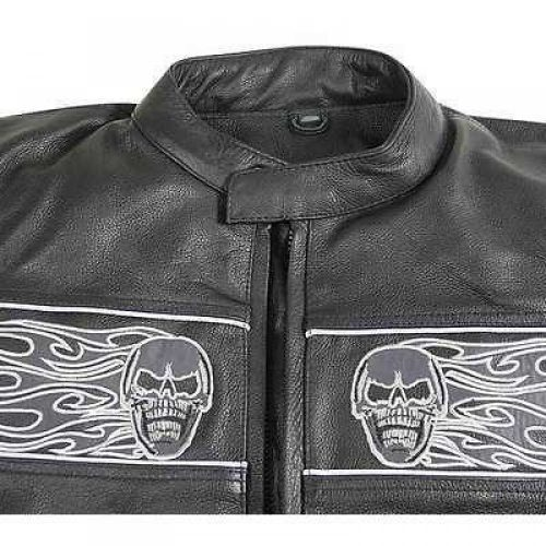 mens biker leather jackets