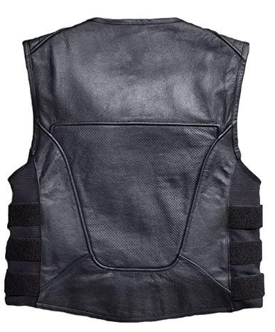 harley davidson men's swat ii leather vest