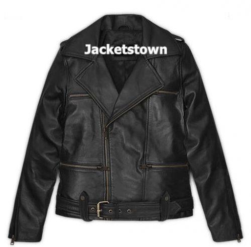 Brie Larson Leather Jacket