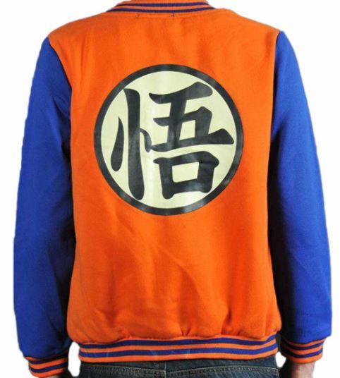 dragon ball z bomber jacket